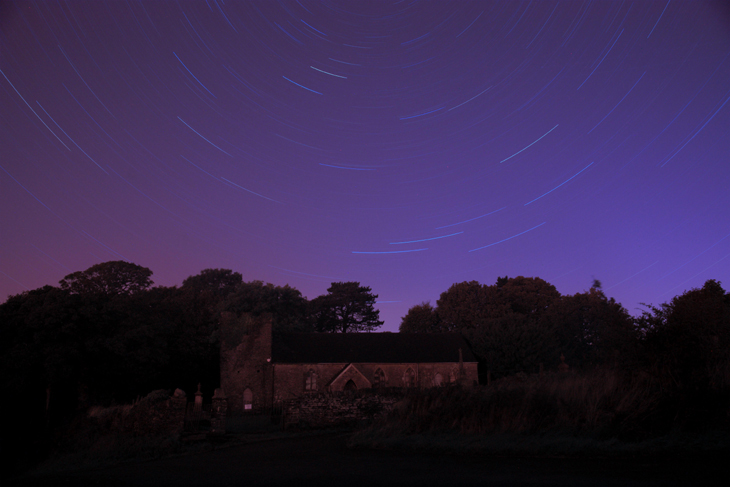 Llangiwg Star Trail, by Ian Glendenning
