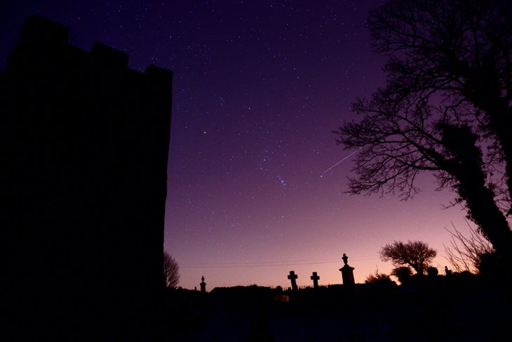 Orion Aside Llangiwg Tower, by Ian Glendenning