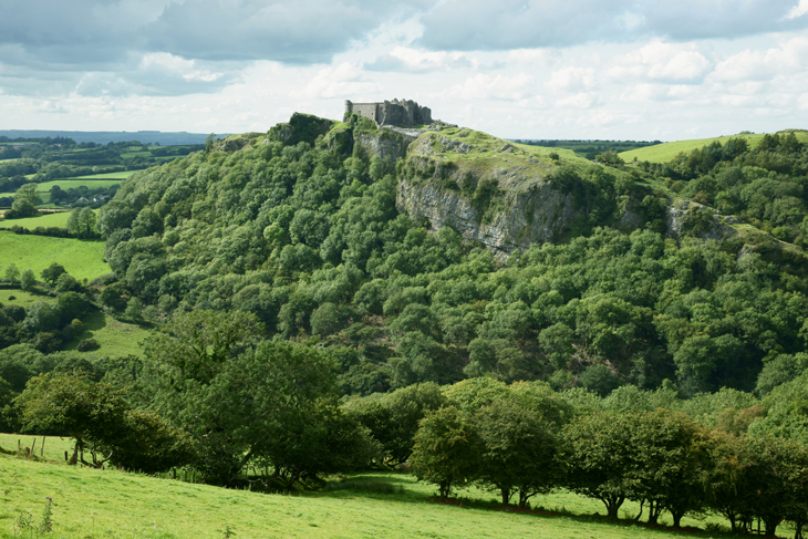 Carreg Cennen Castle, by Ian Glendenning