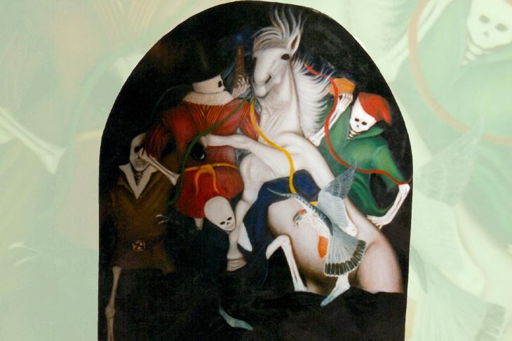 'Mari Llwyd' by Roy Guy