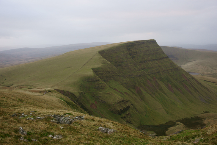 Fan Foel from Fan Brycheiniog, by Ian Glendenning