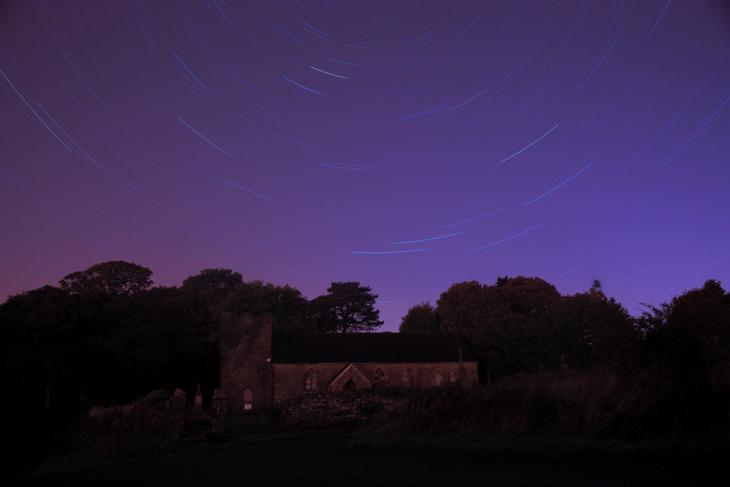 Llangiwg Star Trail, by Ian Glendenning