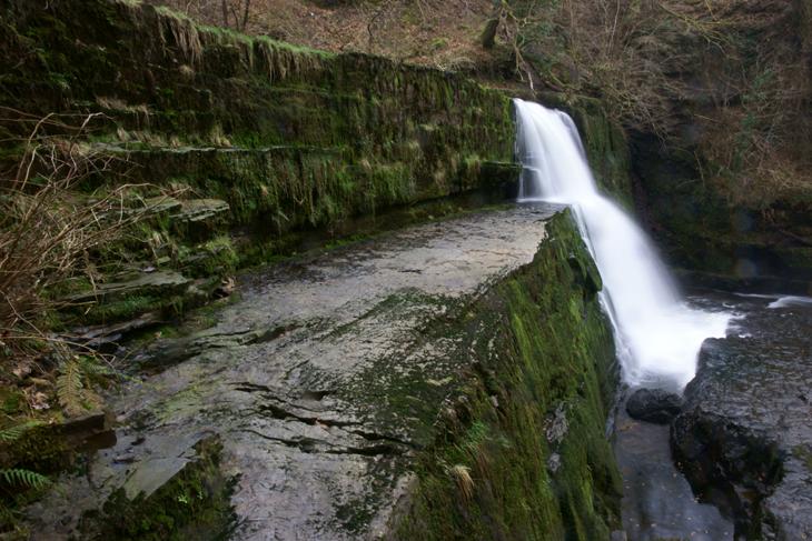 Sgwd Clun-Gwyn (Falls of the White Meadow)